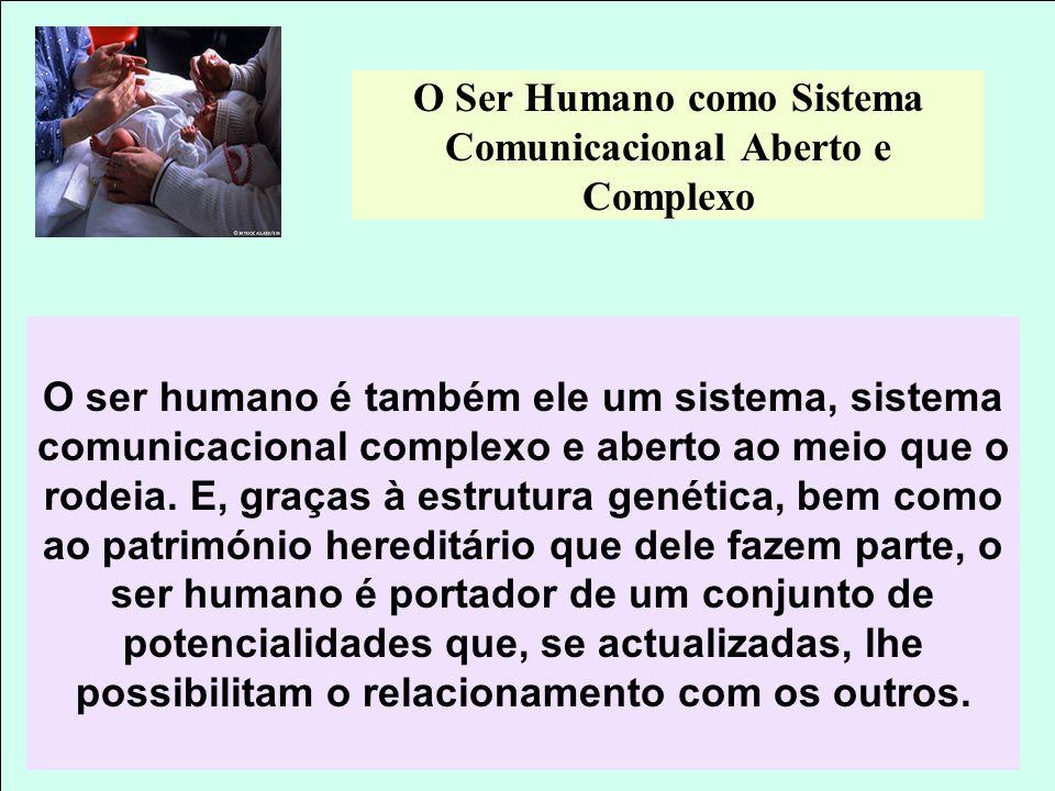 O Ser Humano como Sistema Comunicacional Aberto e Complexo