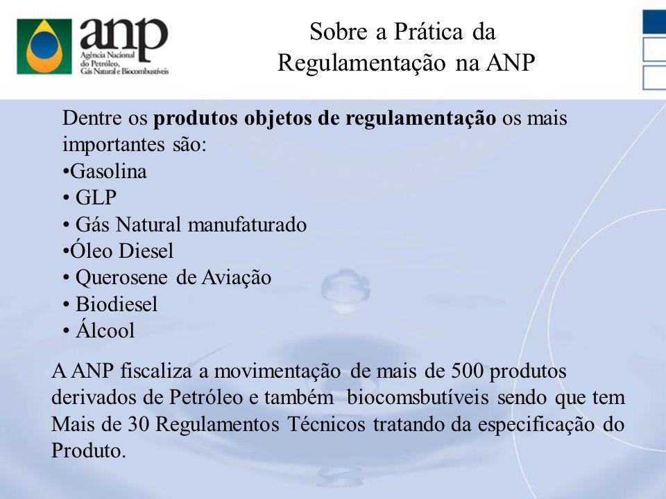 Sobre a Prática da Regulamentação na ANP