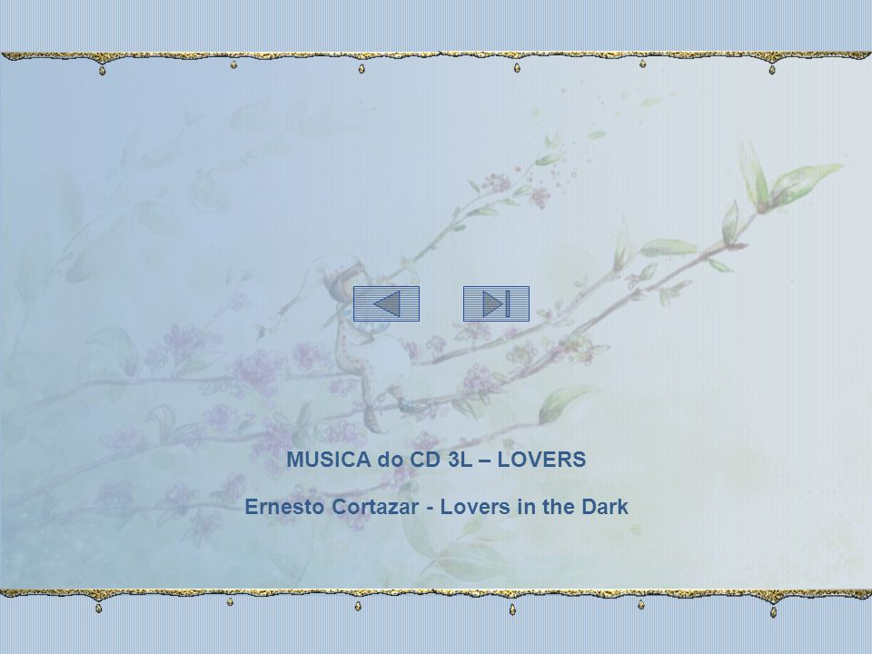 Ernesto Cortazar - Lovers in the Dark