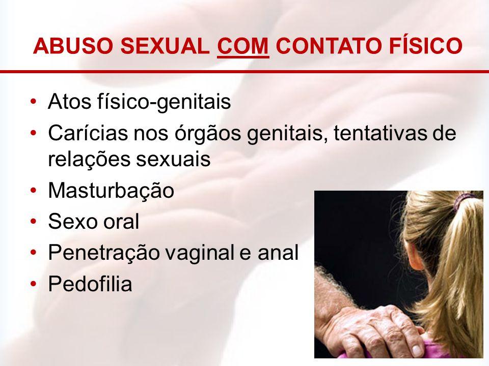Abuso sexual com contato físico