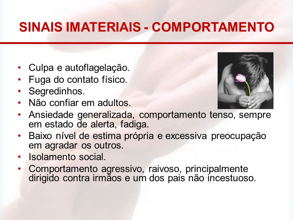 SINAIS IMATERIAIS - COMPORTAMENTO