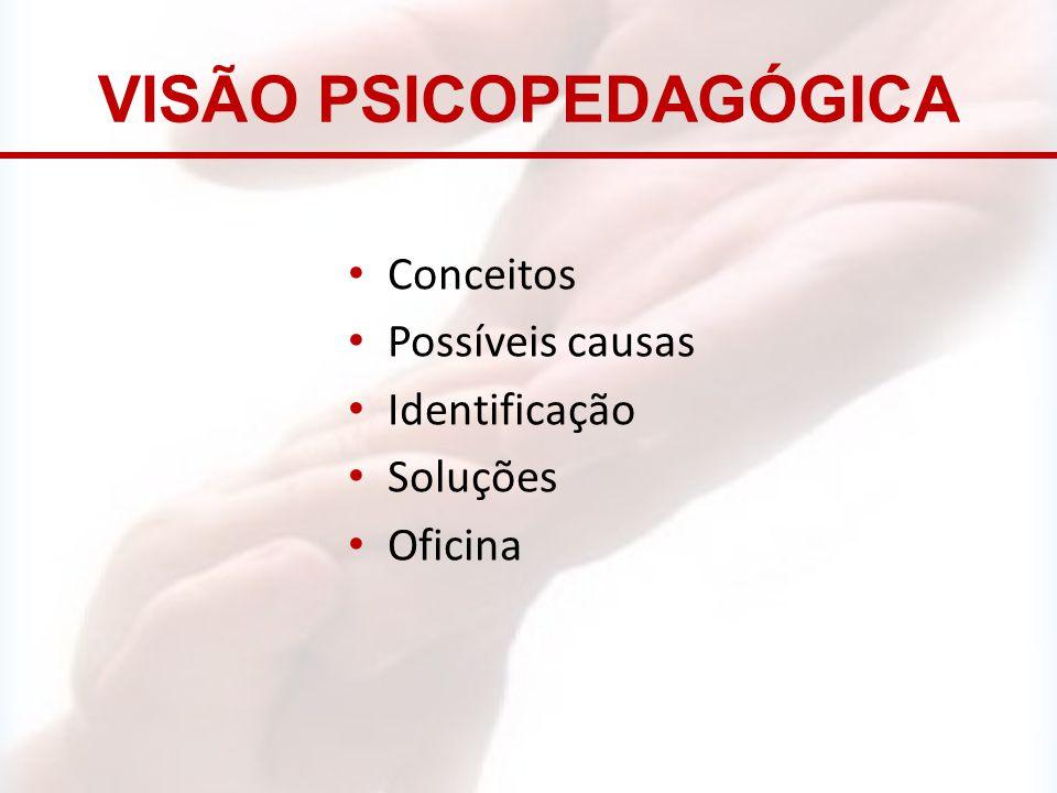 VISÃO PSICOPEDAGÓGICA
