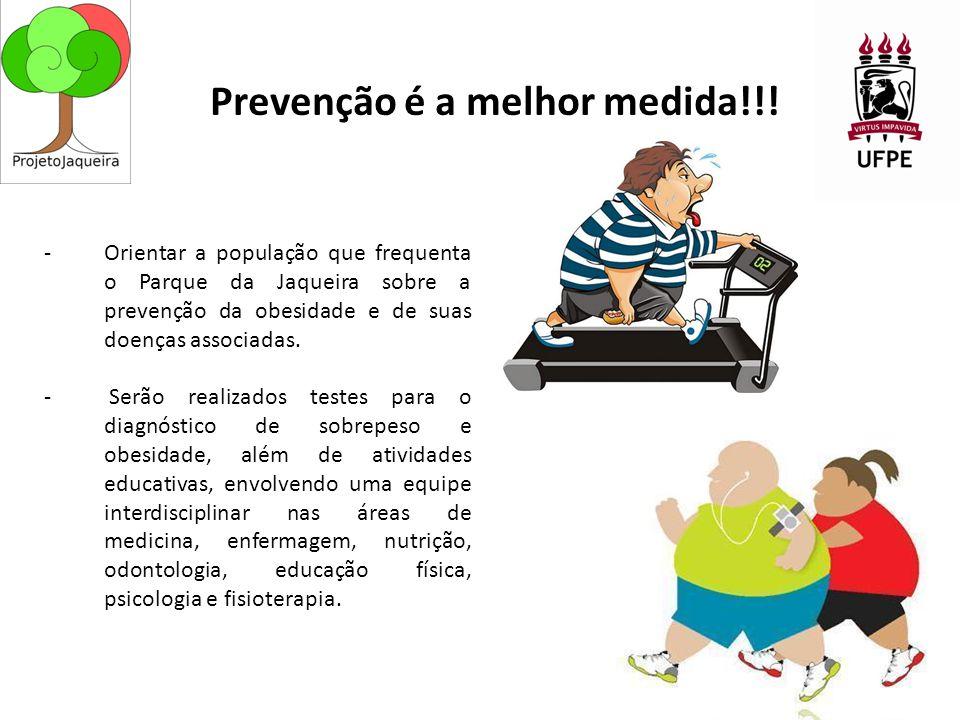 Prevenção é a melhor medida!!!