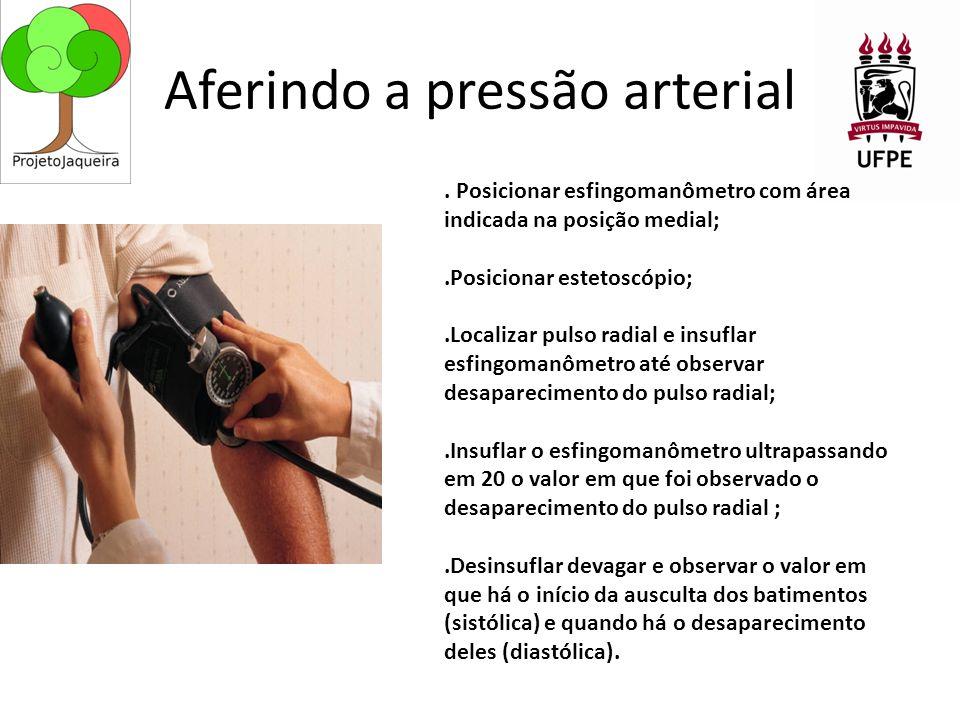 Aferindo a pressão arterial