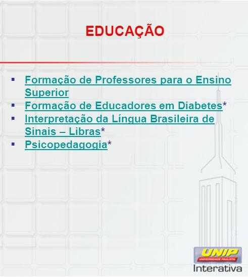 EDUCAÇÃO Formação de Professores para o Ensino Superior