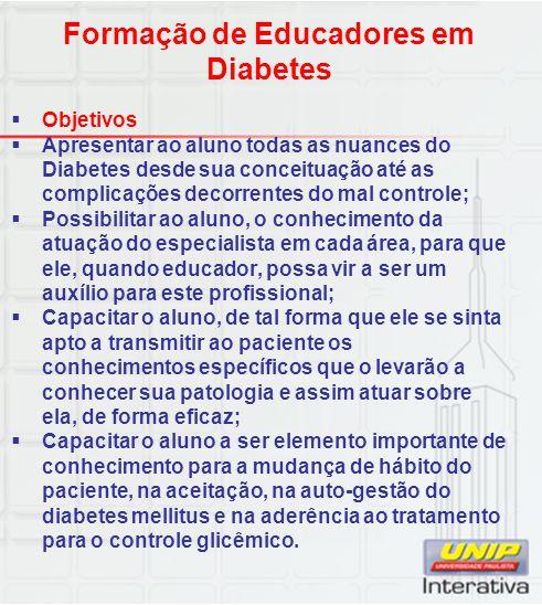 Formação de Educadores em Diabetes
