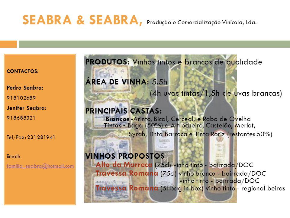 SEABRA & SEABRA, Produção e Comercialização Vinícola, Lda.