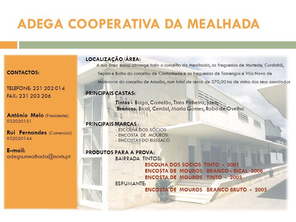 ADEGA COOPERATIVA DA MEALHADA