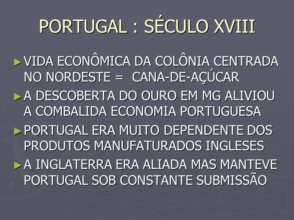 PORTUGAL : SÉCULO XVIII