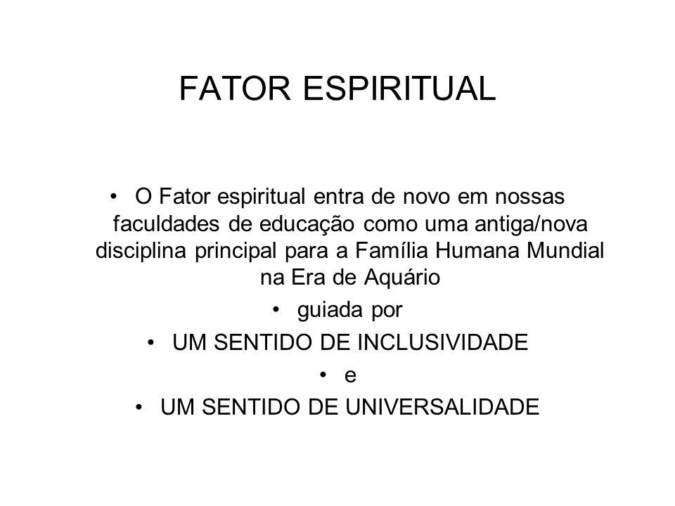 FATOR ESPIRITUAL