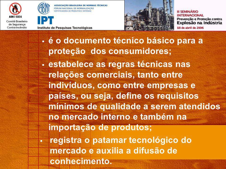 é o documento técnico básico para a proteção dos consumidores;