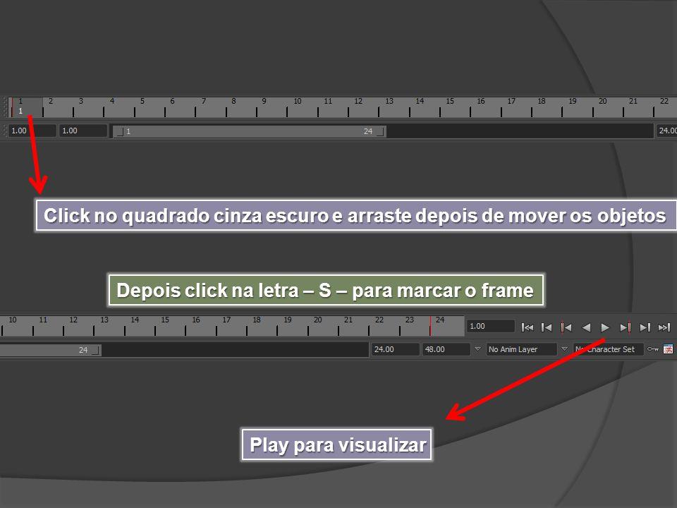 Click no quadrado cinza escuro e arraste depois de mover os objetos