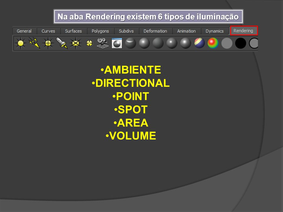 AMBIENTE DIRECTIONAL POINT SPOT AREA VOLUME