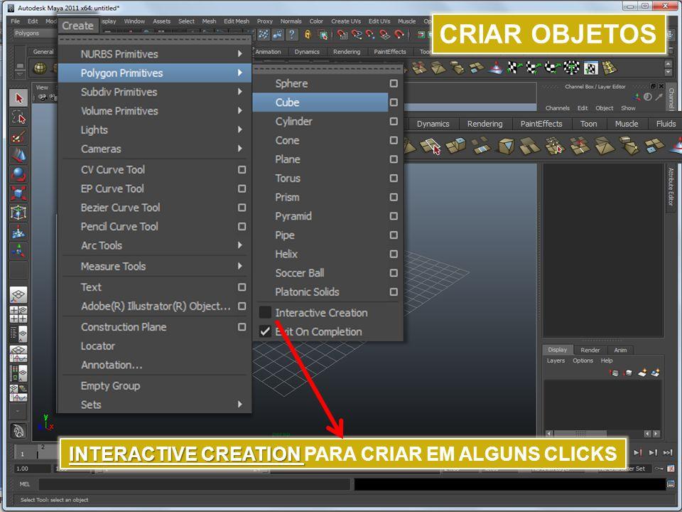 INTERACTIVE CREATION PARA CRIAR EM ALGUNS CLICKS