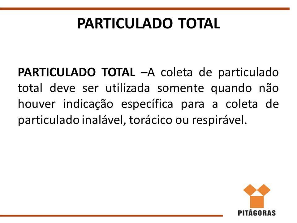 PARTICULADO TOTAL