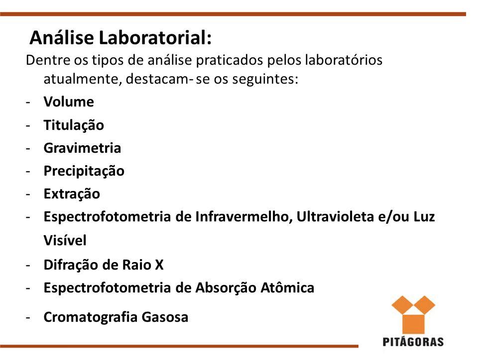 Análise Laboratorial: