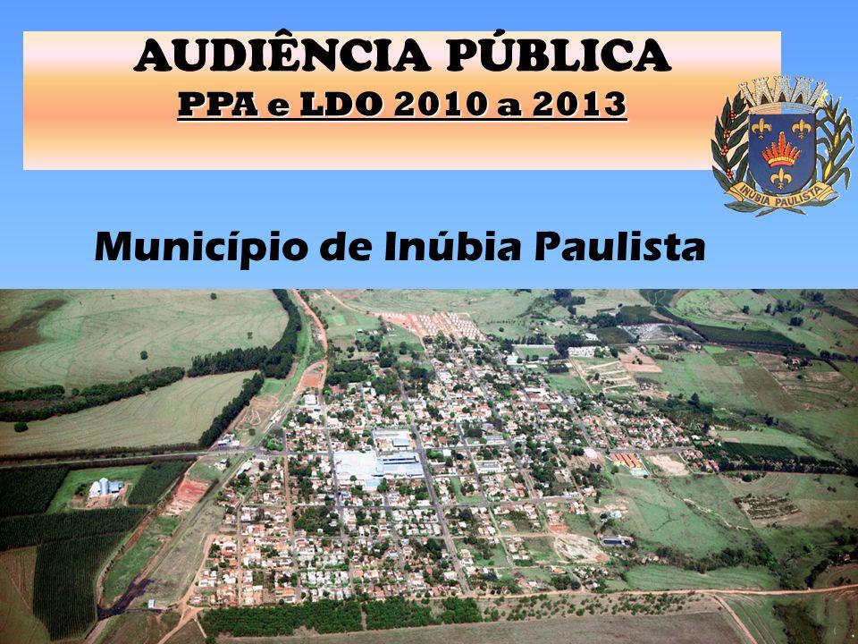 AUDIÊNCIA PÚBLICA PPA e LDO 2010 a 2013