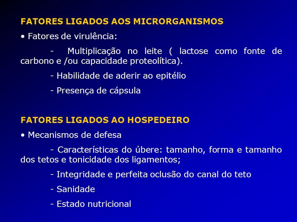 FATORES LIGADOS AOS MICRORGANISMOS