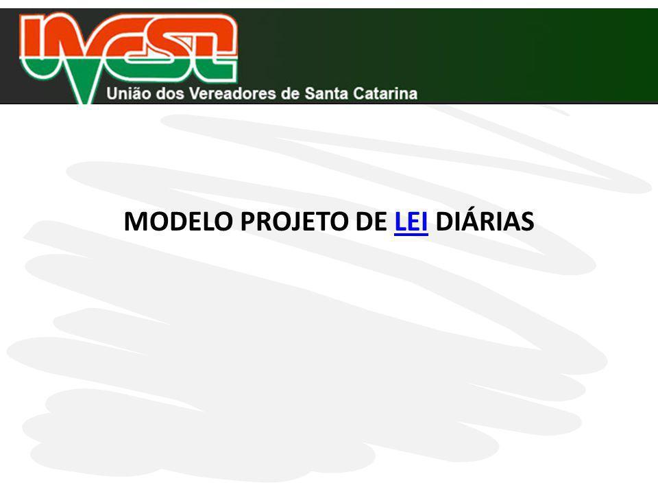 INSTRUÇÃO NORMATIVA TC 14/2012 DIÁRIAS