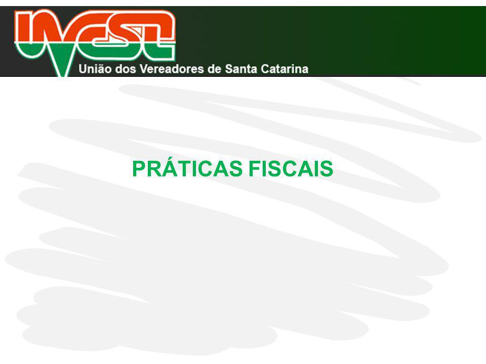 PRÁTICAS FISCAIS