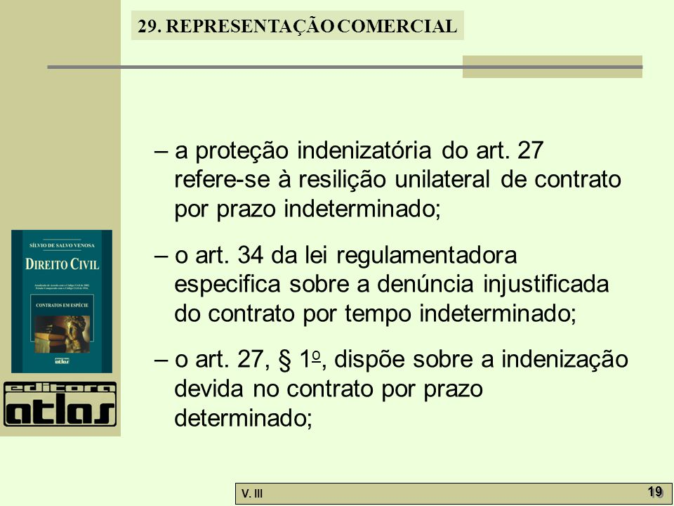 – a proteção indenizatória do art. 27