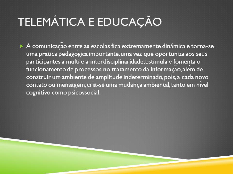 Telemática e educação