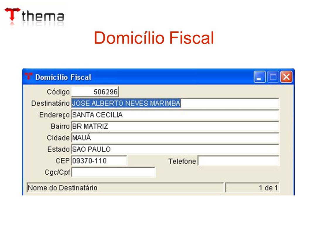 Domicílio Fiscal