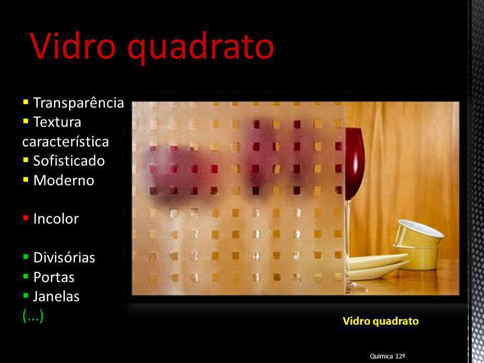 Vidro quadrato Transparência Textura característica Sofisticado