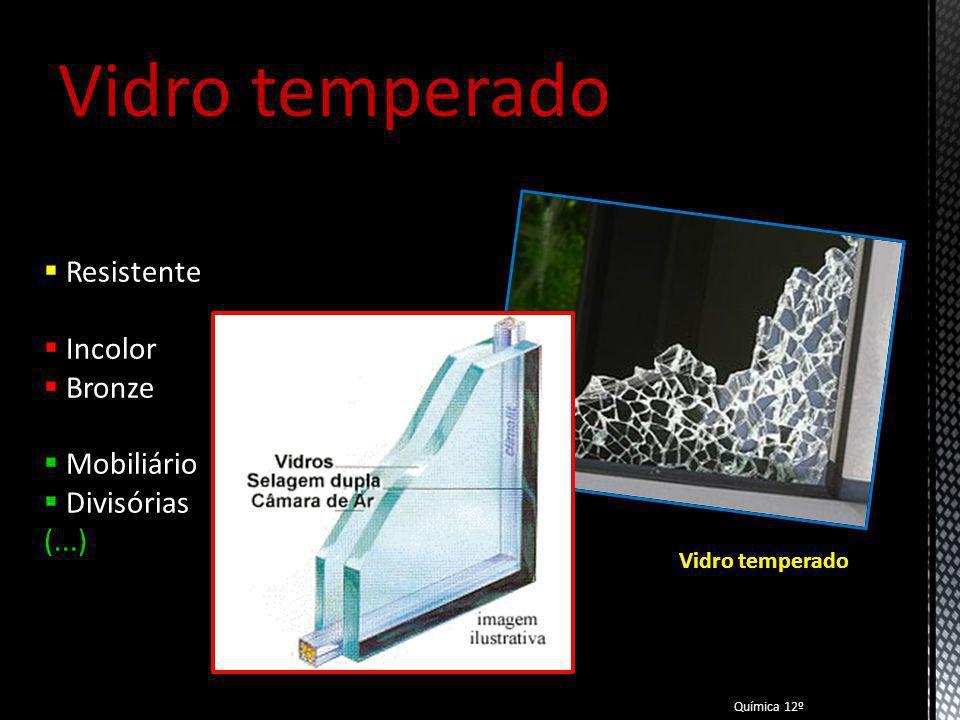 Vidro temperado Resistente Incolor Bronze Mobiliário Divisórias (...)