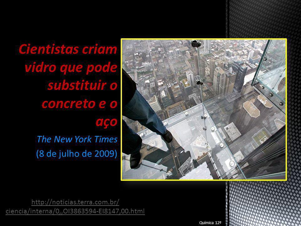 Cientistas criam vidro que pode substituir o concreto e o aço