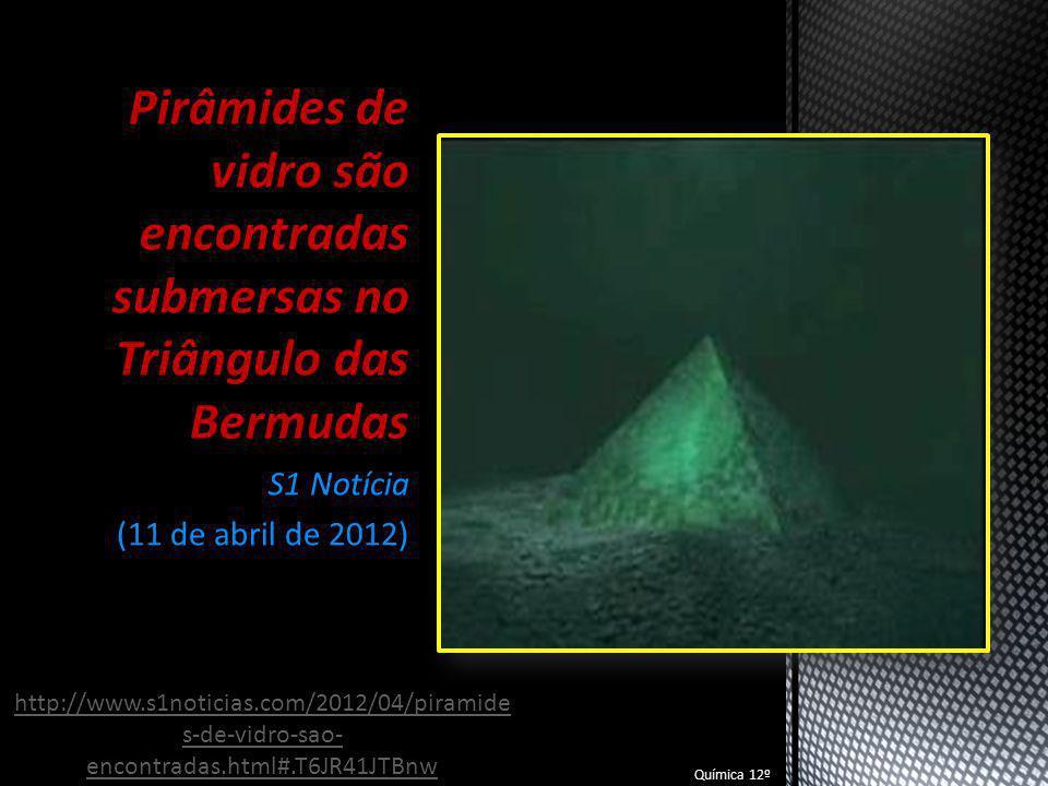 Pirâmides de vidro são encontradas submersas no Triângulo das Bermudas