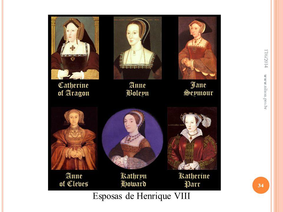 Esposas de Henrique VIII