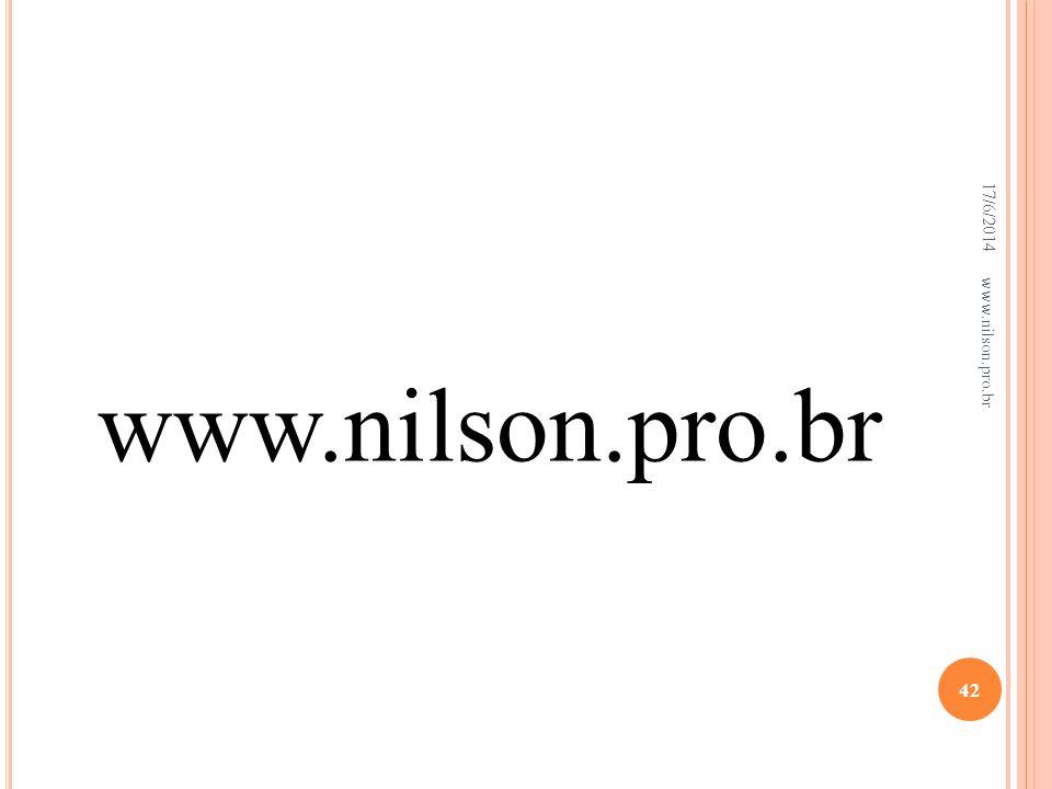 02/04/2017 www.nilson.pro.br www.nilson.pro.br