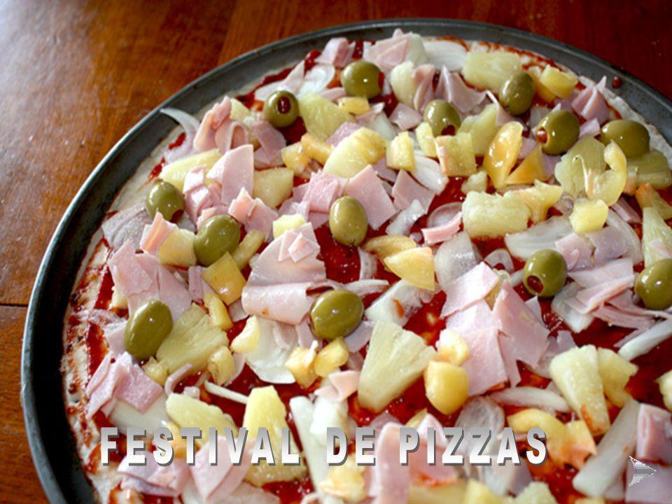 FESTIVAL DE PIZZAS FESTIVAL DE PIZZAS