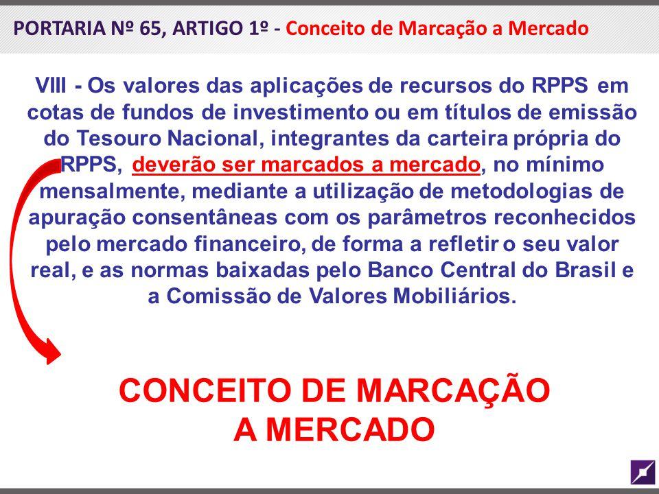 CONCEITO DE MARCAÇÃO A MERCADO