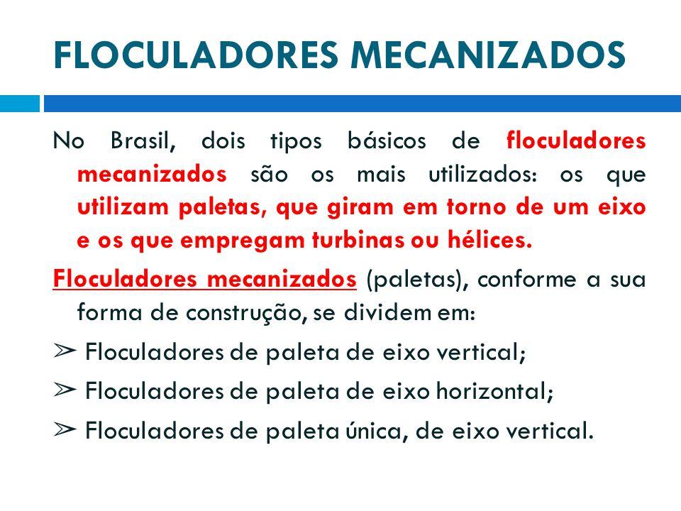 FLOCULADORES MECANIZADOS