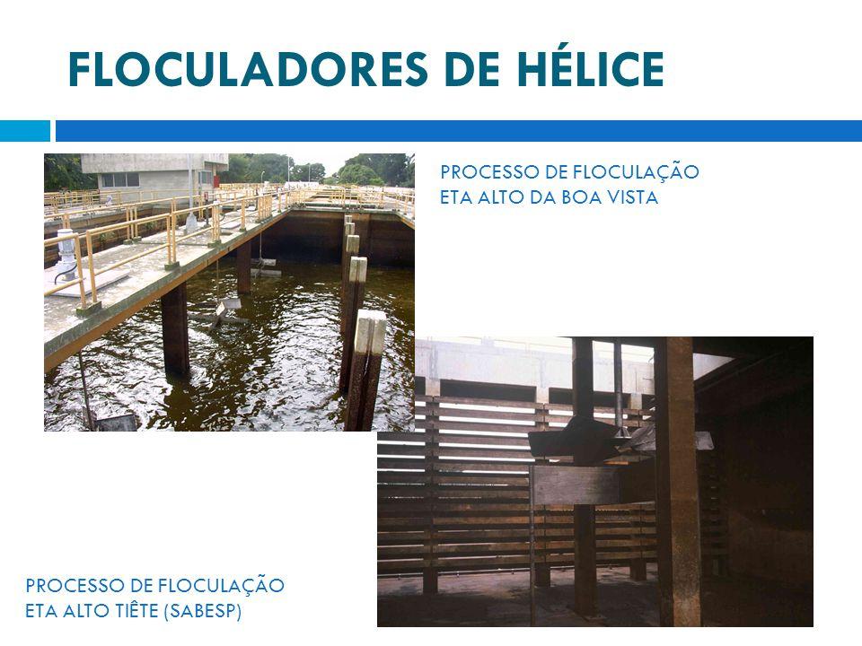 FLOCULADORES DE HÉLICE