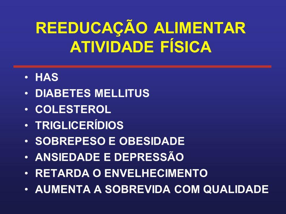 REEDUCAÇÃO ALIMENTAR ATIVIDADE FÍSICA