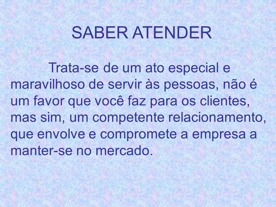 SABER ATENDER