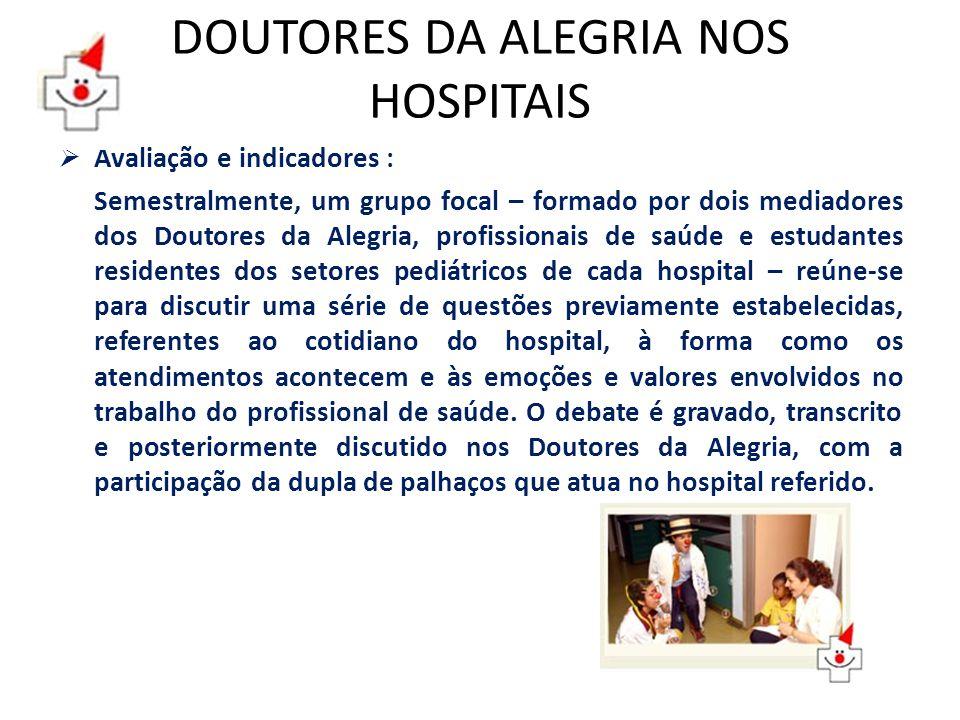 DOUTORES DA ALEGRIA NOS HOSPITAIS