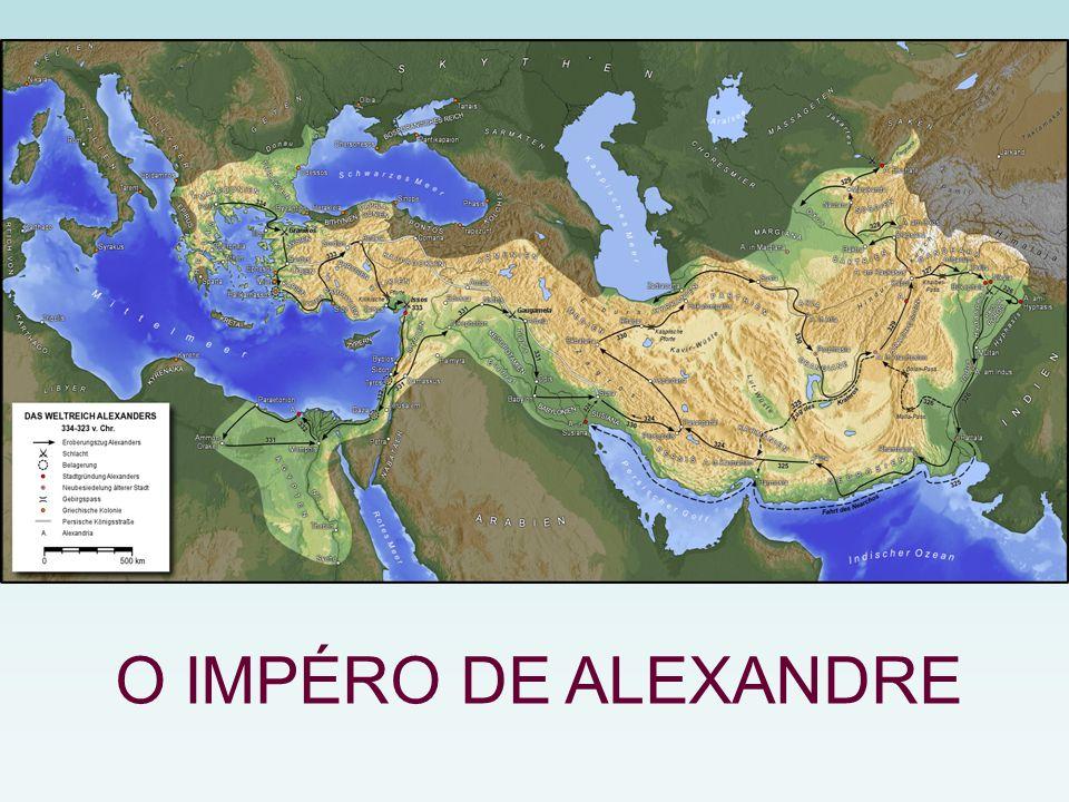 O IMPÉRO DE ALEXANDRE