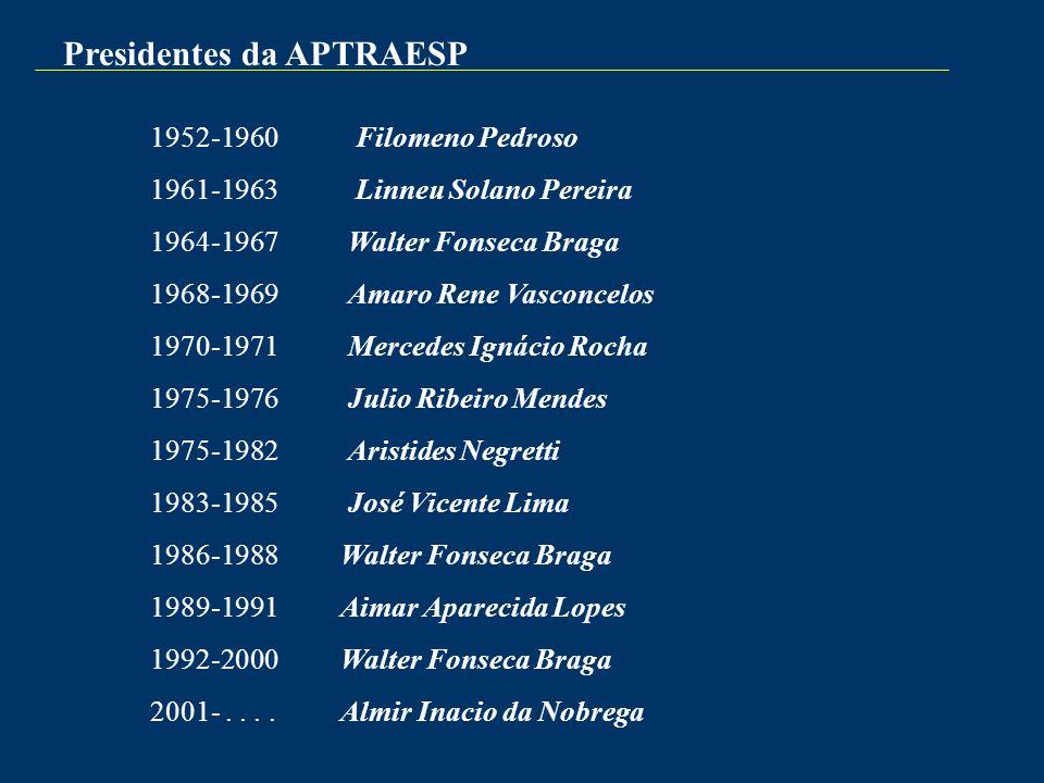 Presidentes da APTRAESP