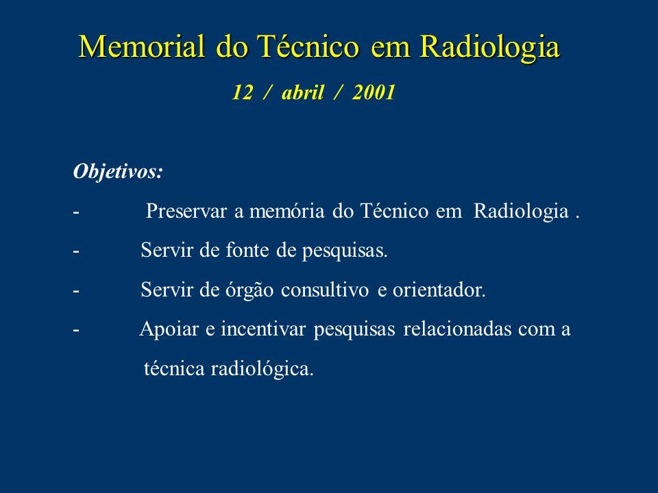 Memorial do Técnico em Radiologia