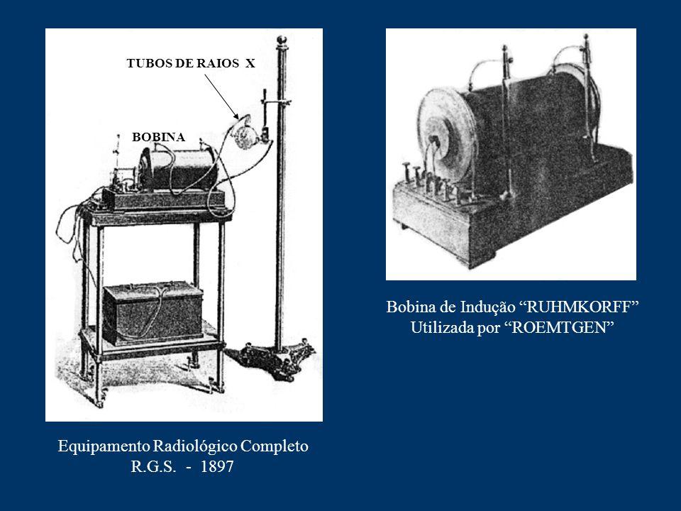 Bobina de Indução RUHMKORFF Utilizada por ROEMTGEN