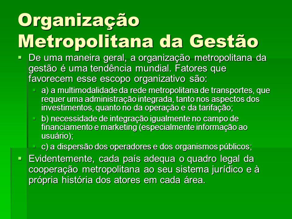 Organização Metropolitana da Gestão
