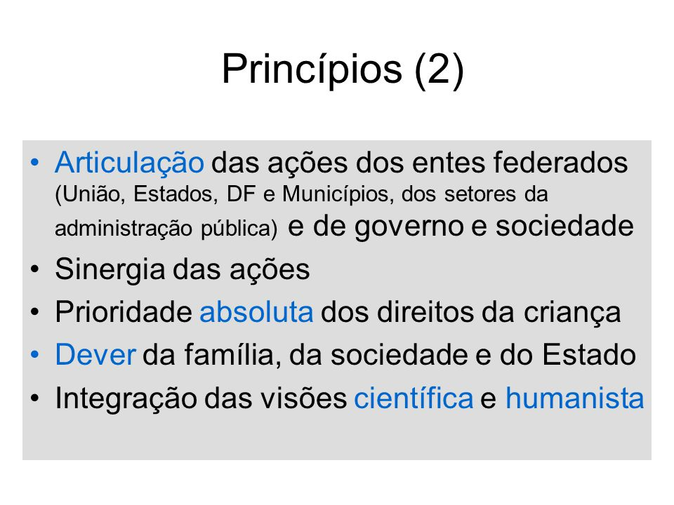 Princípios (2)