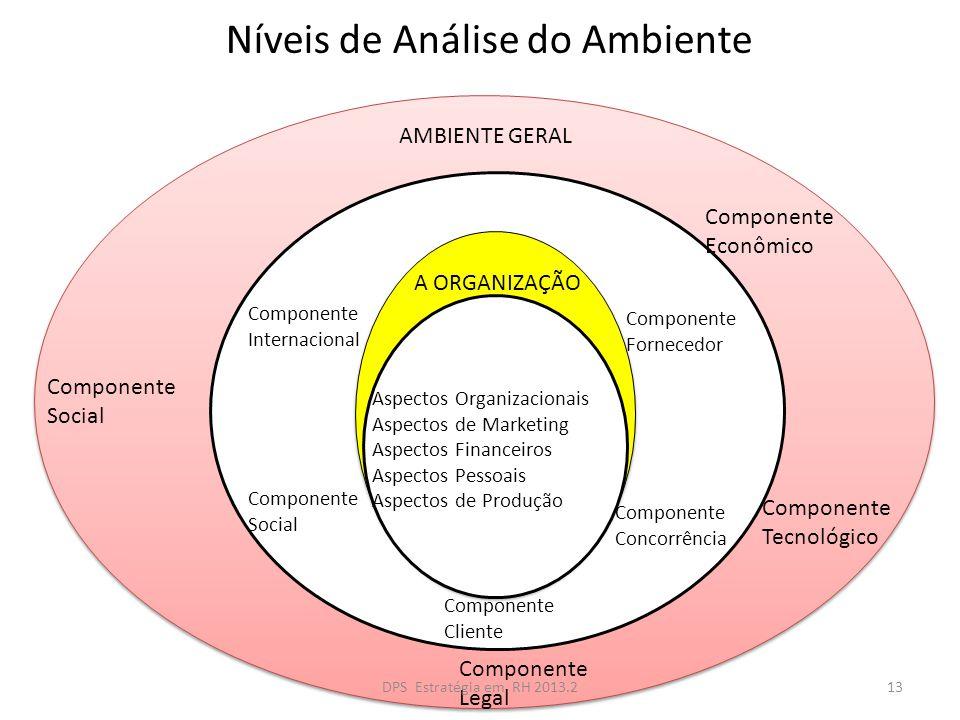 Níveis de Análise do Ambiente