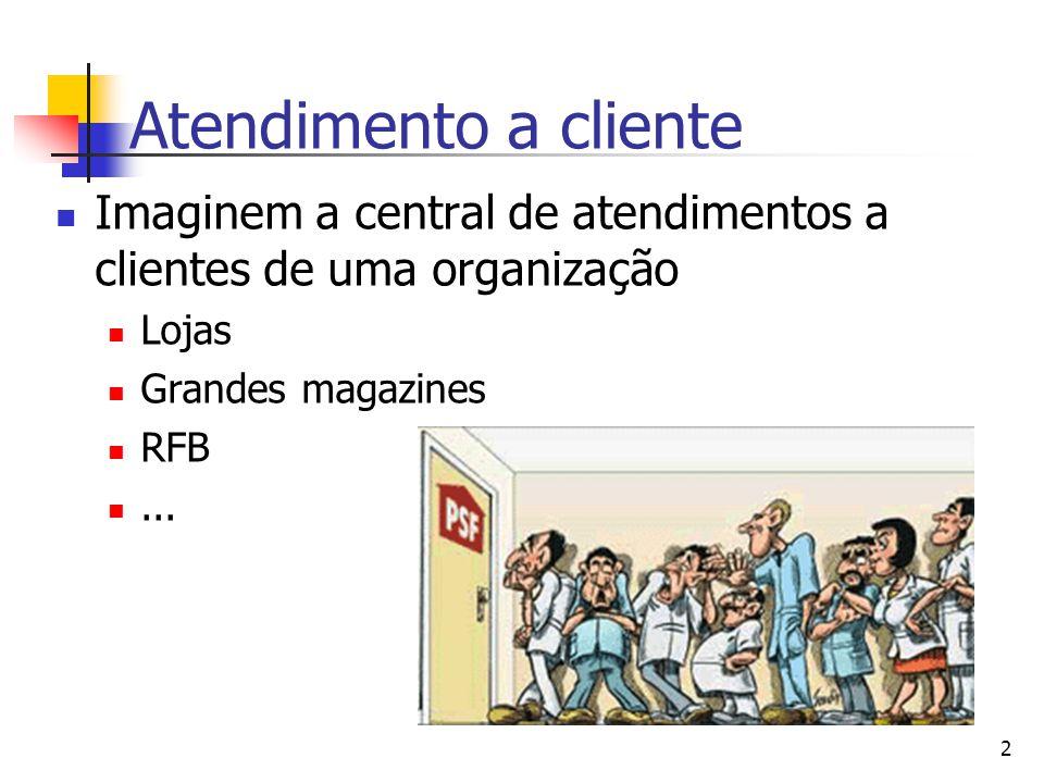 Atendimento a cliente Imaginem a central de atendimentos a clientes de uma organização. Lojas. Grandes magazines.