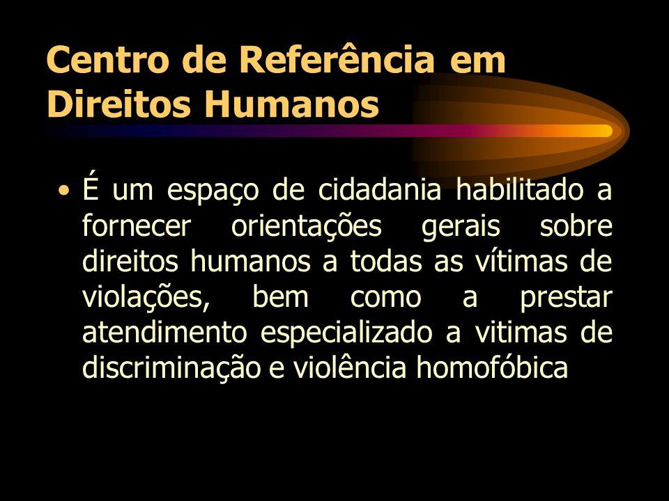Centro de Referência em Direitos Humanos