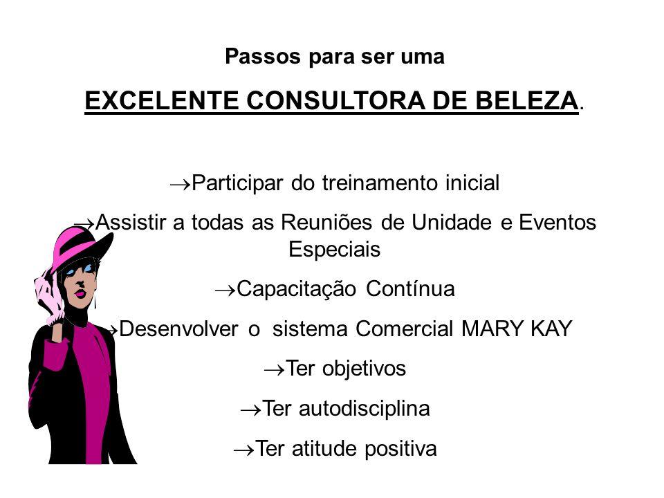 EXCELENTE CONSULTORA DE BELEZA.